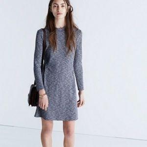 Madewell Cityblock Mockneck Knit Dress